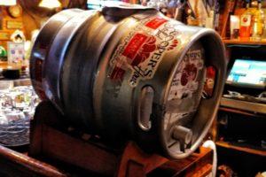 Beer keg at Cooper's Seafood